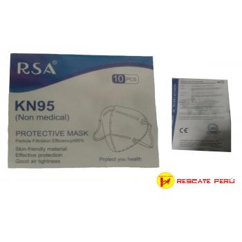 Mascarillas KN95  RSA